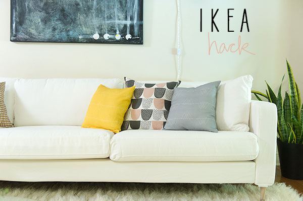 ikea hack karlstad sofa la la Lovely