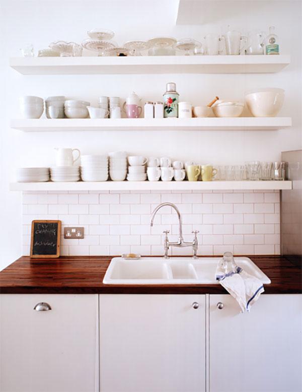 trend floating shelves in the kitchen la la lovely rh lalalovelythings com 18 Floating Shelf Floating Shelves Better Homes and Gardens